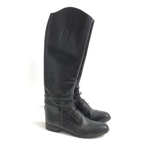 On Course Tall Black Riding boots size 11.5 Slim